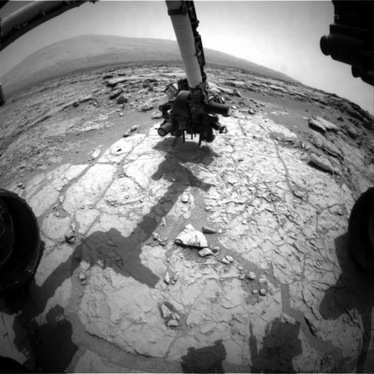 Preparing to drill, sol 171