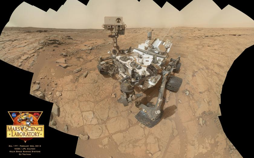 Curiosity MAHLI self-portrait, sol 177