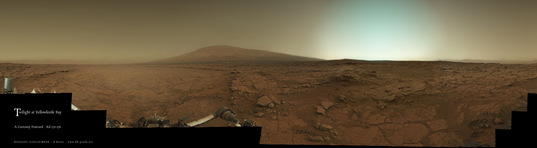 Twilight at Glenelg, Curiosity sols 170 and 176