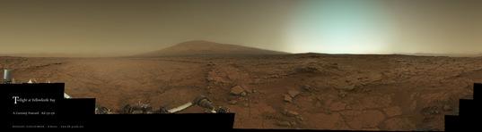 Twilight at Glenelg, Curiosity sols 170 and 176