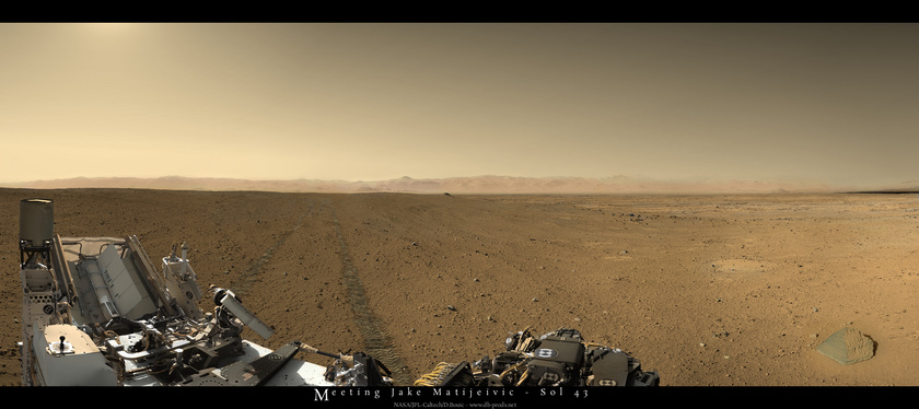 Meeting Jake Matijevic, Curiosity sol 43