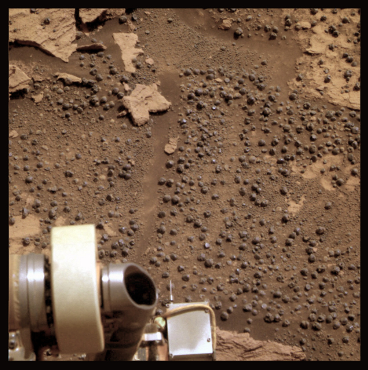 The last bedrock, Opportunity sol 2668