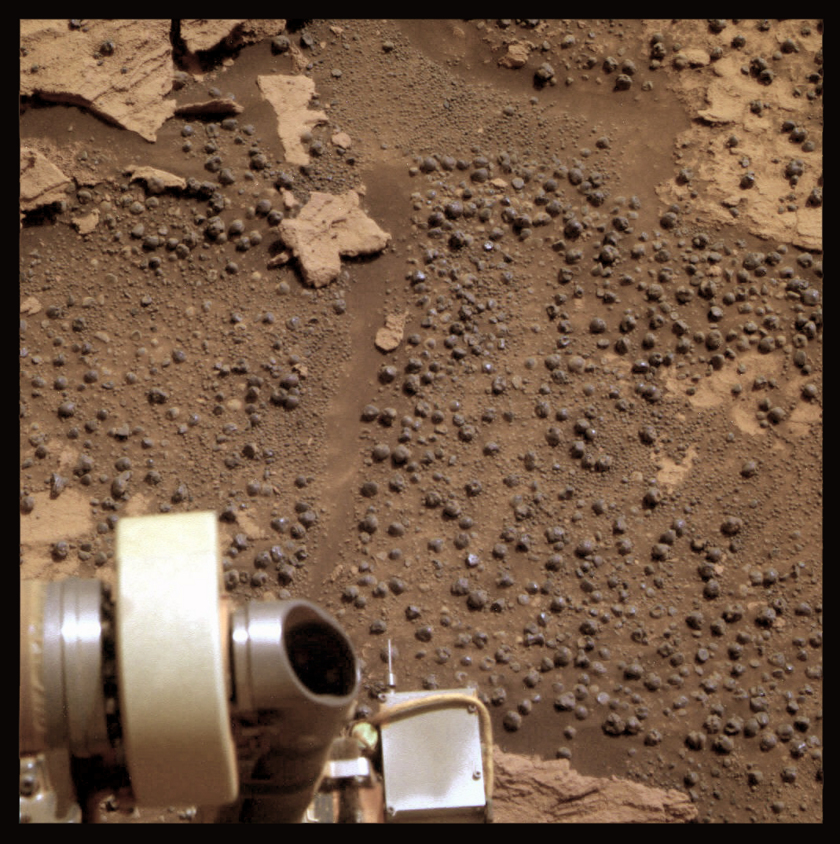 The last bedrock, Opportunity sol 2668