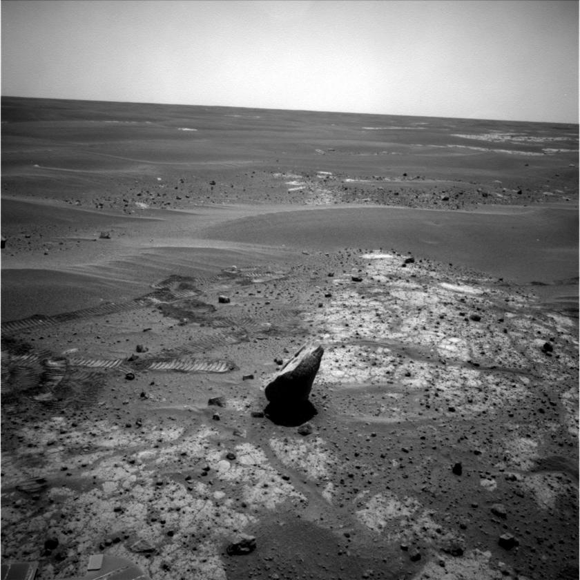 Portrait of Marquette, Opportunity sol 2088