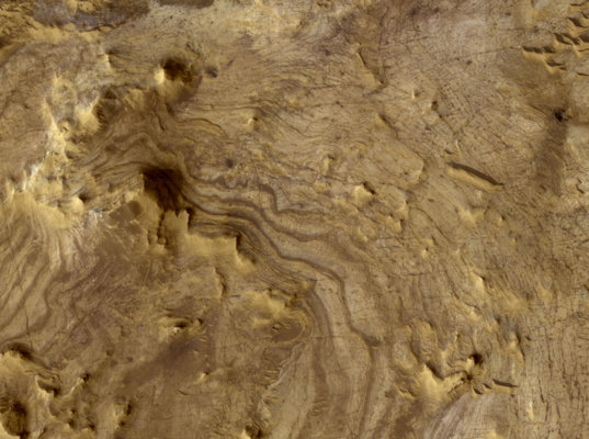 Light-Toned Layered Rocks in Arabia and East Xanthe Regions