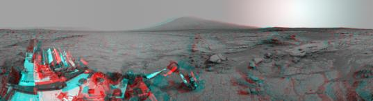 Mars Stereo View from