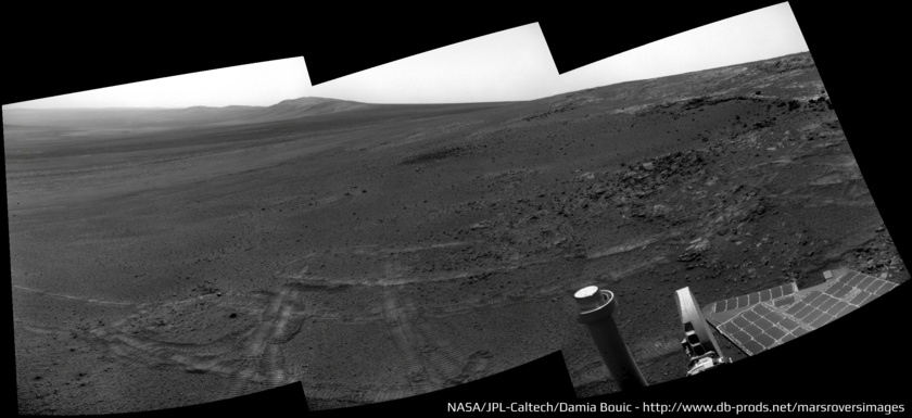 Opportunity Navcam pan, sol 3308 (May 15, 2013)