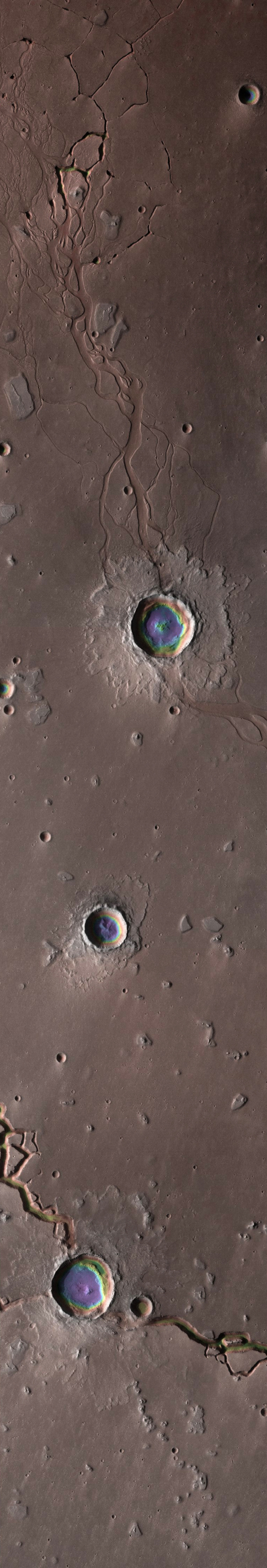 The Depths of Hephaestus Fossae