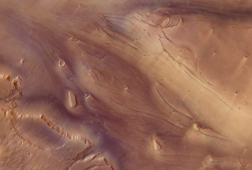 Mars Express Kasei Vallis mosaic (full-resolution detail)