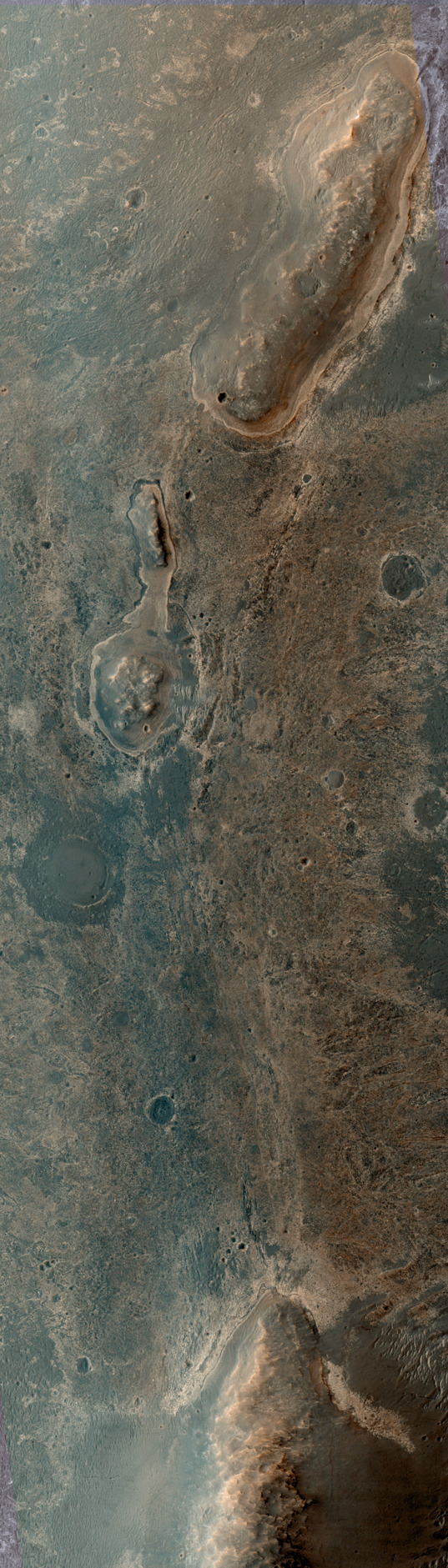 HiRISE view of Opportunity, sol 3361