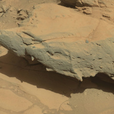 Cooperstown outcrop, Curiosity sol 441