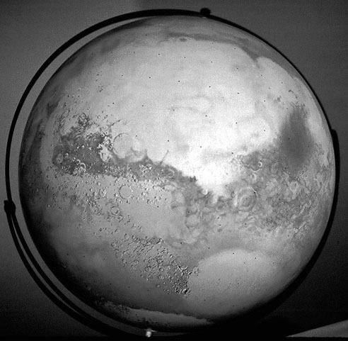 The Mariner Mars Globe | The Planetary Society