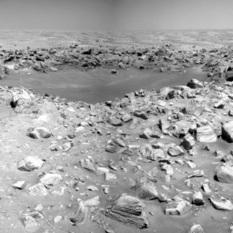 Concepcion crater, Opportunity sol 2138