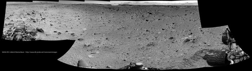 Navcam panorama, sol 519