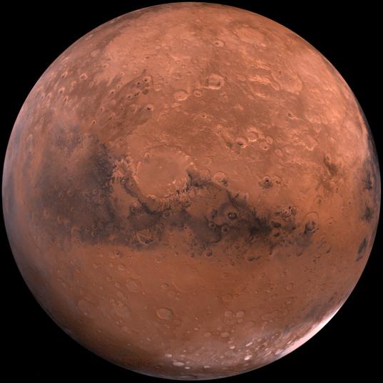 Mars: Schiaparelli Hemisphere