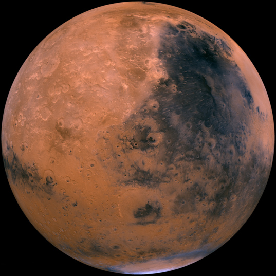 Mars: Syrtis Major Hemisphere