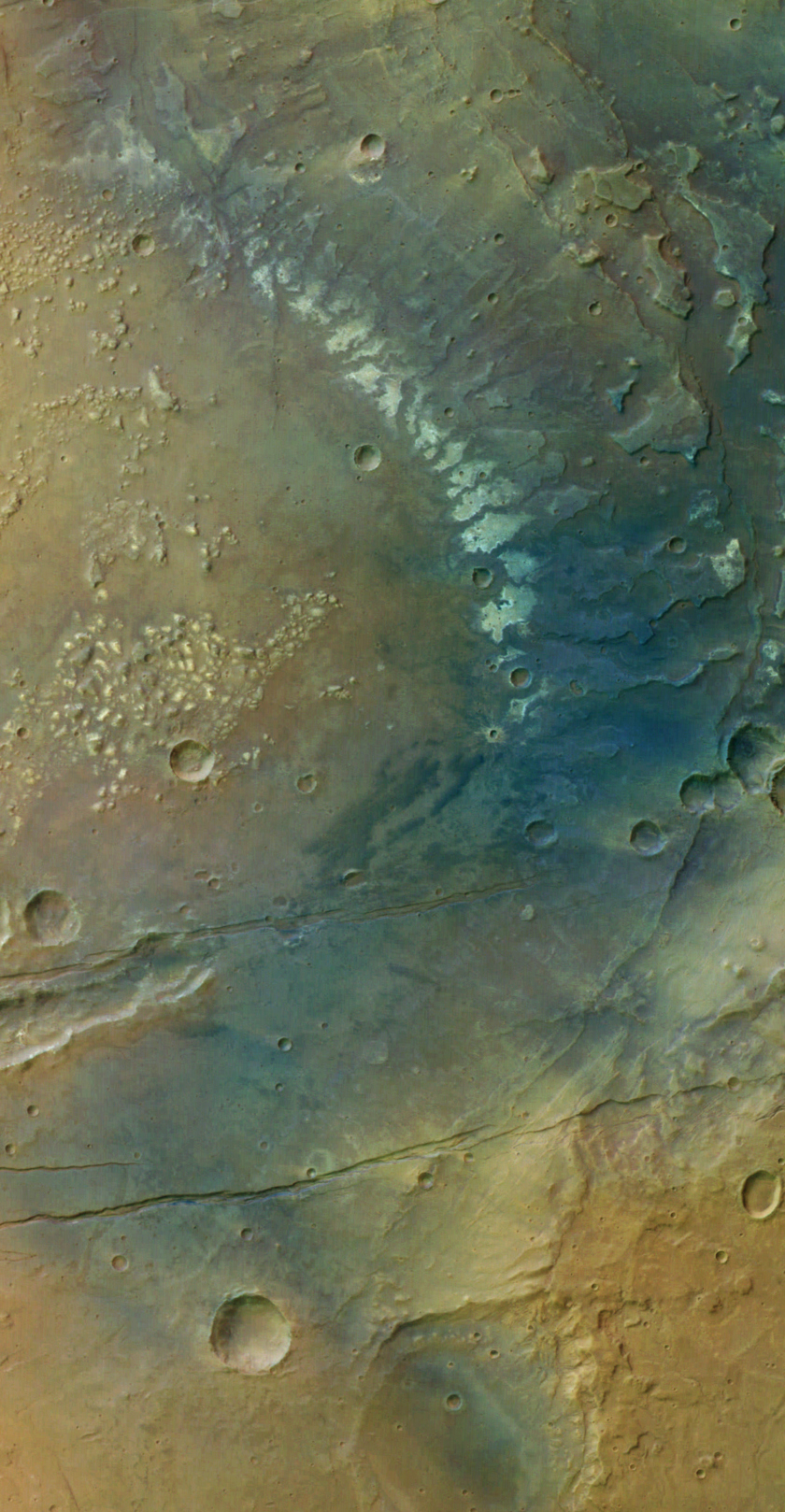 The Sirenum Fossae Region of Mars