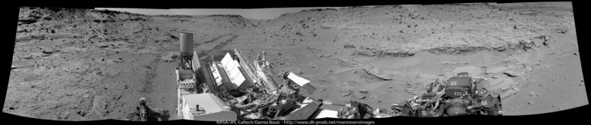 Into Moonlight Valley, Curiosity sol 539