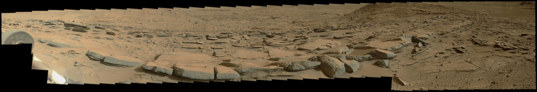 The north edge of Kimberley, Curiosity sol 580