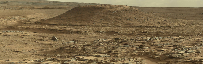 Mount Remarkable, the Kimberley, Mars (Curiosity sol 590)