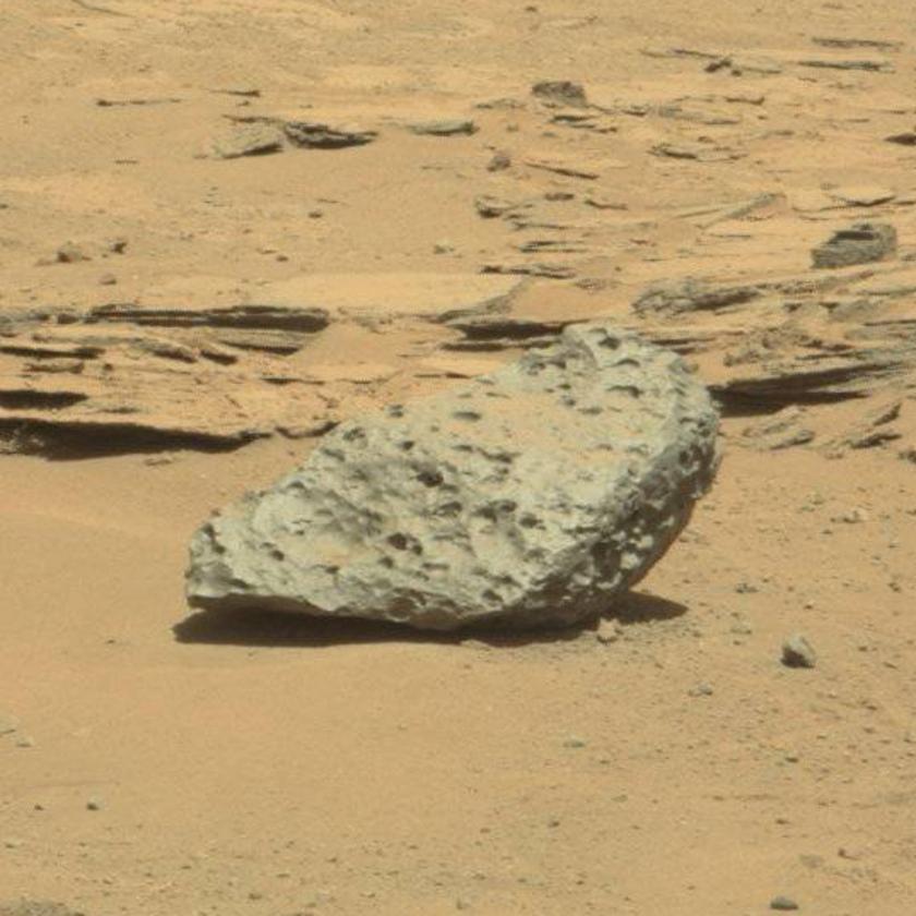 Littleton meteorite, Curiosity sol 637