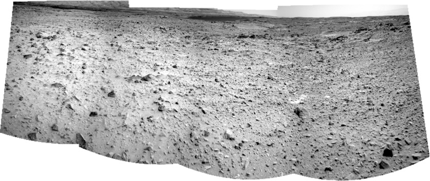 The path to Hidden Valley, Curiosity sol 696