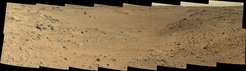 View into Hidden Valley, Curiosity sol 703
