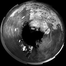 Curiosity at Pahrump Hills, sol 753