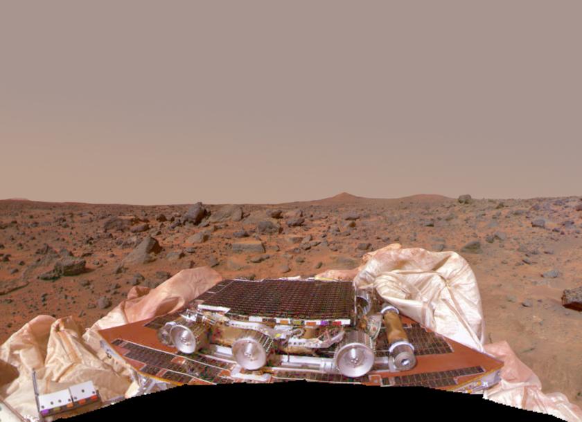 Mars Pathfinder Mission Success Panorama