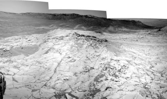 Curiosity Navcam panorama, sol 780 (Book Cliffs)