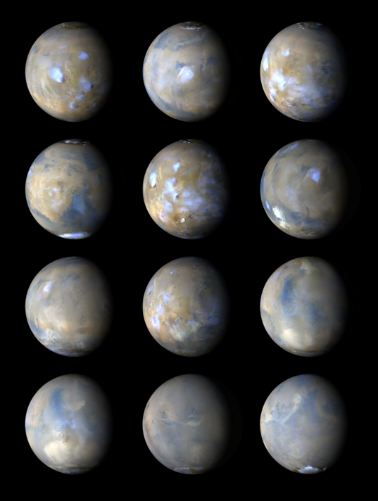 A Year of Mars Weather