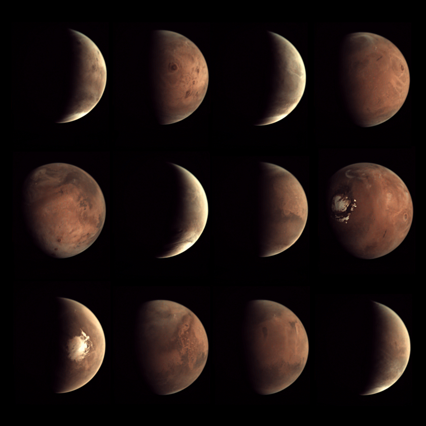 A Year of VMC Mars Images