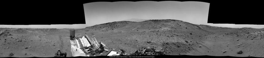 Artist's Drive, sol 950 Navcam panorama