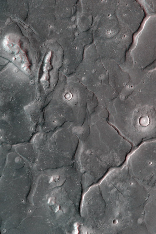 The Acidalia mounds in 3D