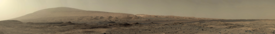 The road ahead, Curiosity sol 1100