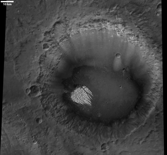 White Rock and environs from Mars Express HRSC
