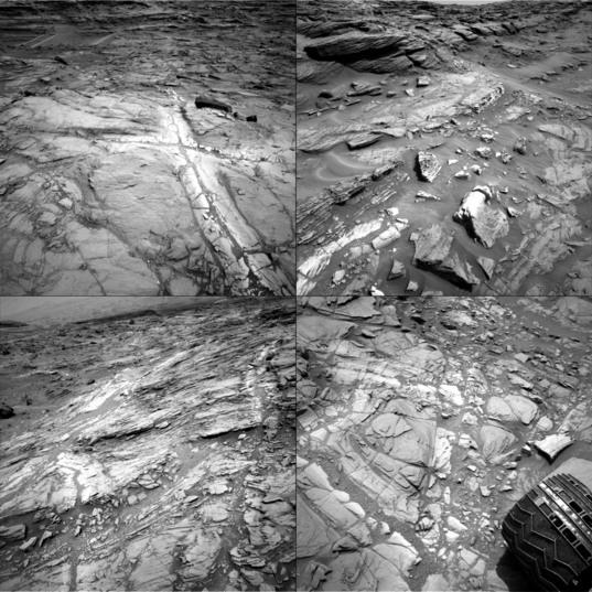 Haloes in the Stimson unit, Curiosity sols 1083-1094