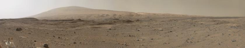Aeolis Mons, Gale Crater, Mars (Curiosity sol 1100)