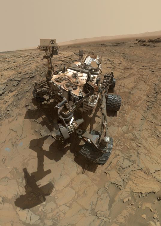 Curiosity sol 1126 self-portrait at Big Sky