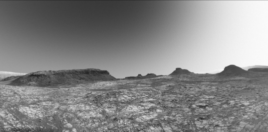 Murray Buttes, Curiosity sol 1414