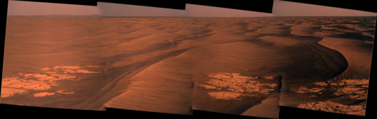 Endeavour Crater dunes