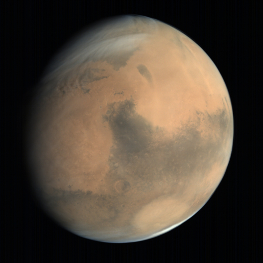 Global view of Mars from MOM: Syrtis Major and Hellas #2