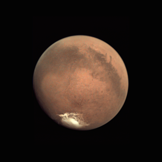 Mars near southern summer solstice