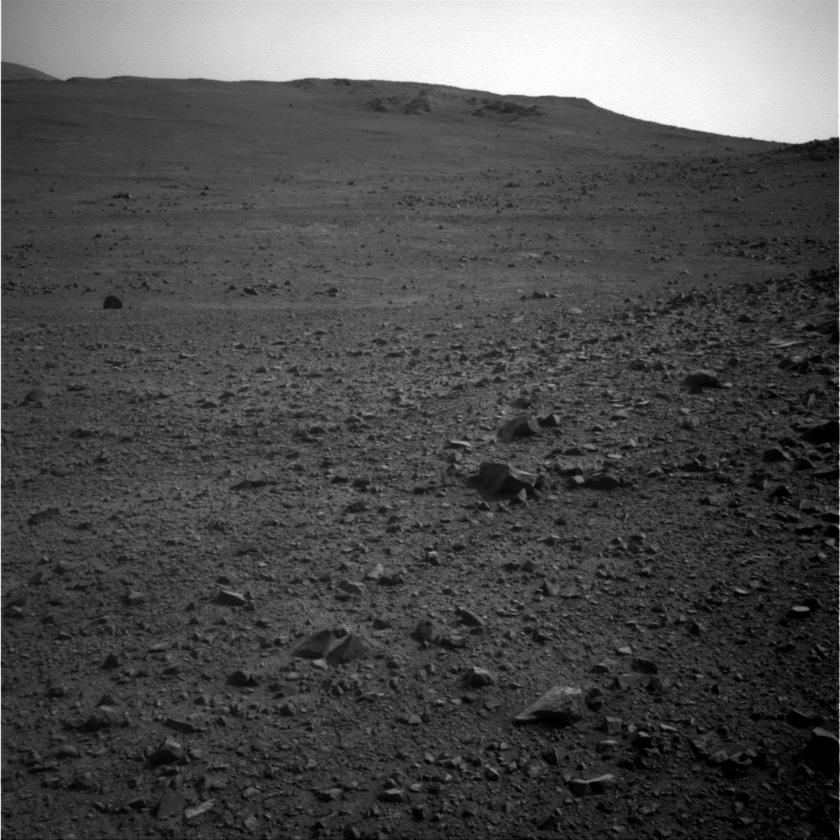 Endeavour Crater, Mars, from Opportunity rover, Nov. 8, 2016