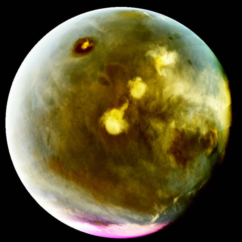 MAVEN view of cloud formation on Mars in UV
