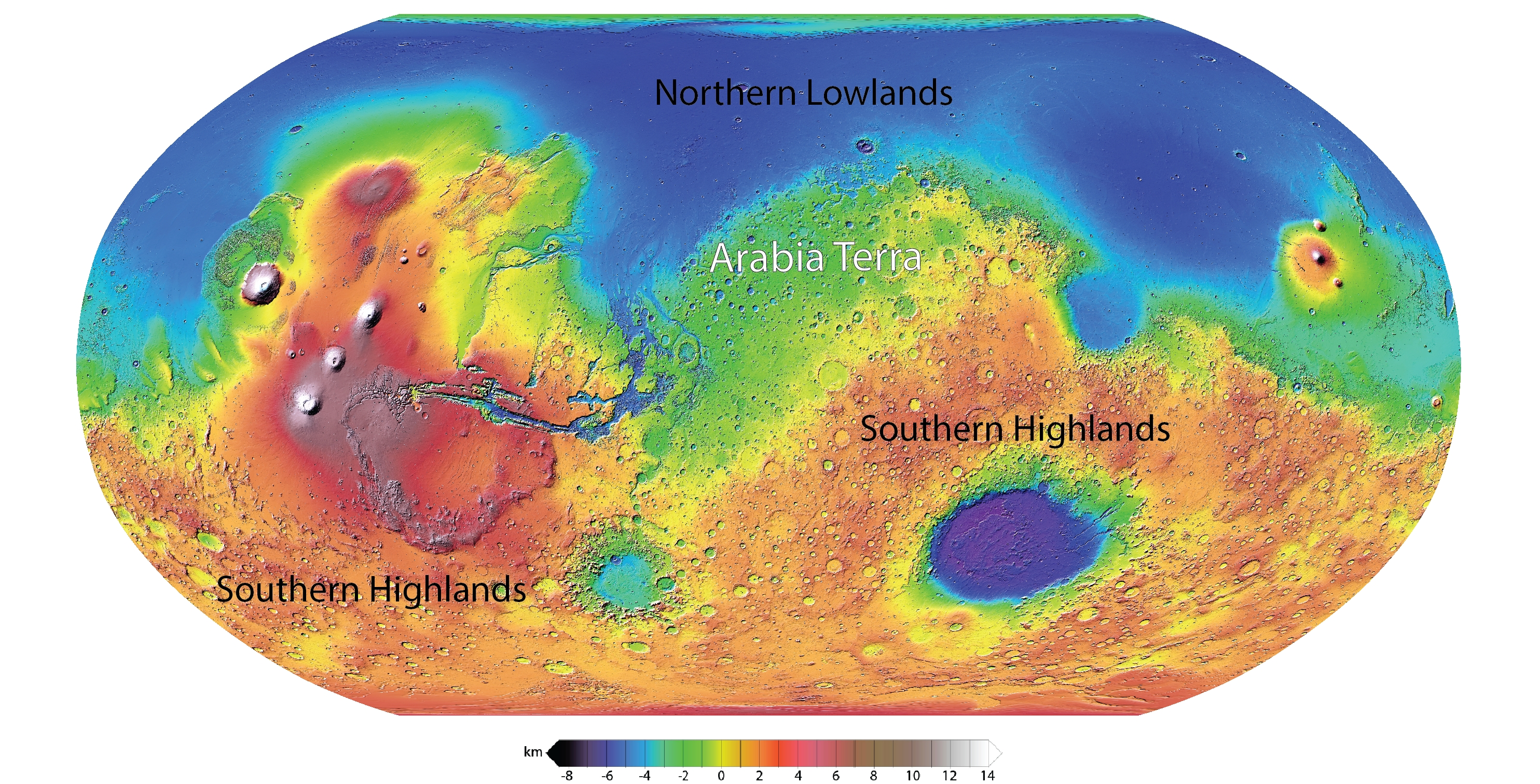 Terra Earth Map.Unraveling A Martian Enigma The Hidden Rivers Of Arabia Terra The