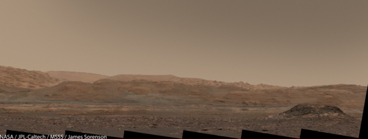 The road ahead, Curiosity sol 1520
