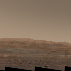 The road ahead, Curiosity sol 1520