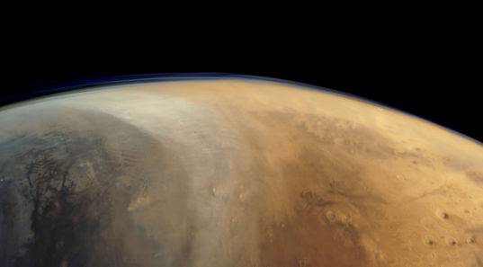 Chryse Planitia and Western Arabia Terra from Mars Express