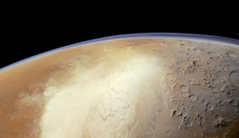Hellas Basin from Mars Express